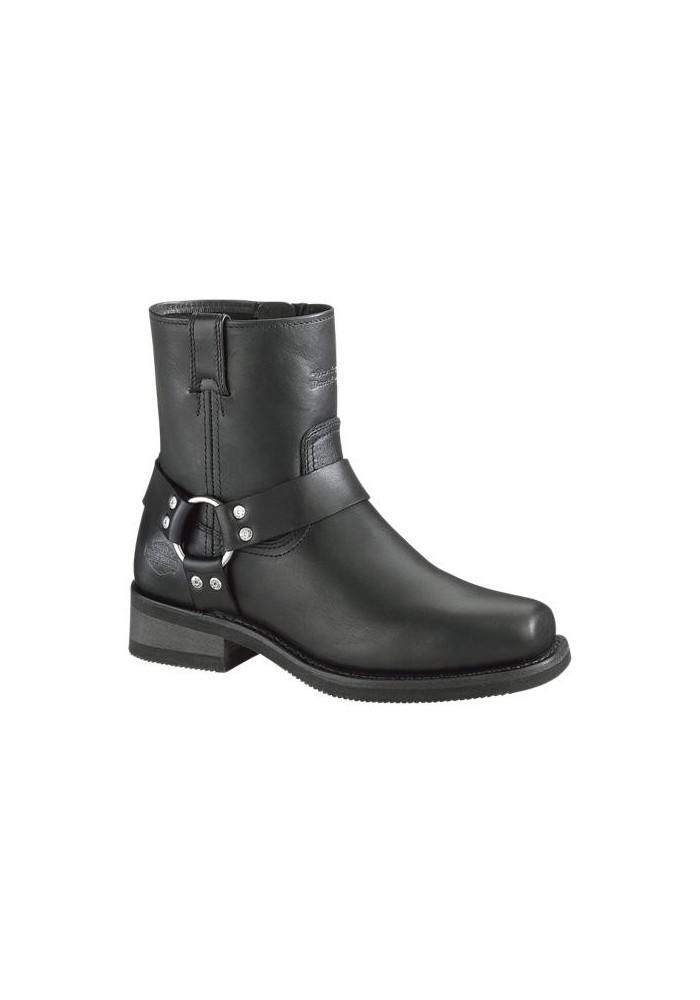 Botte Harley  / El Paso / D94422 / Cuir Noir