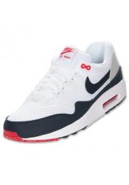 Nike Air Max 1 EM (Ref : 554718-106) White/Dark Obsidian Basket Hommes Deadstock