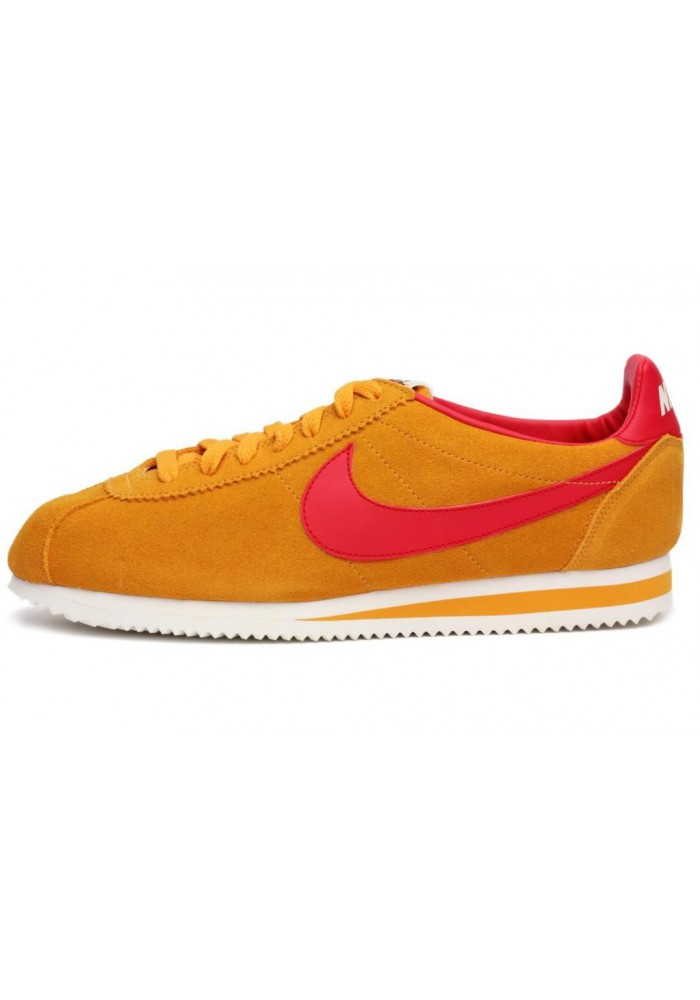 Chaussures Nike Cortez Se Suede Vintage  532486-760 Hommes Running