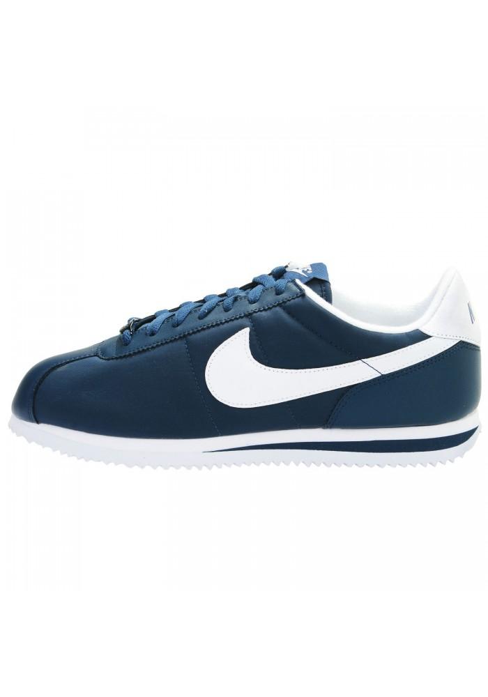 Hommes ref 411 Nylon Nike 476716 Cortez Running Bleu Basket Uv6qxFn