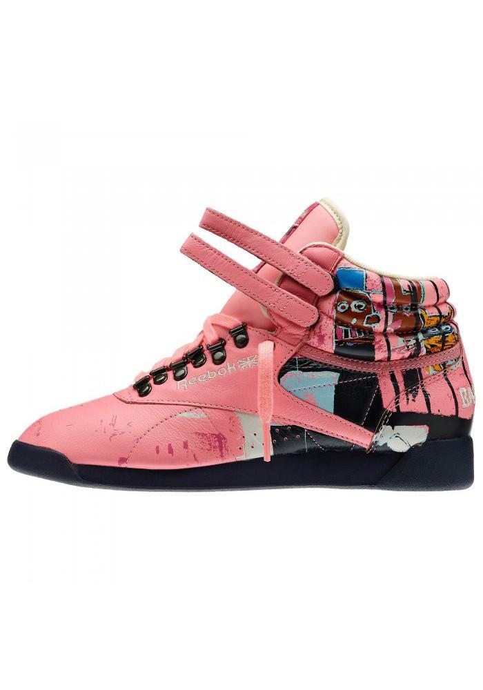 Int V48184 Reebok Femme Freestyle Basquiat Hi Fitness 6fygY7bv
