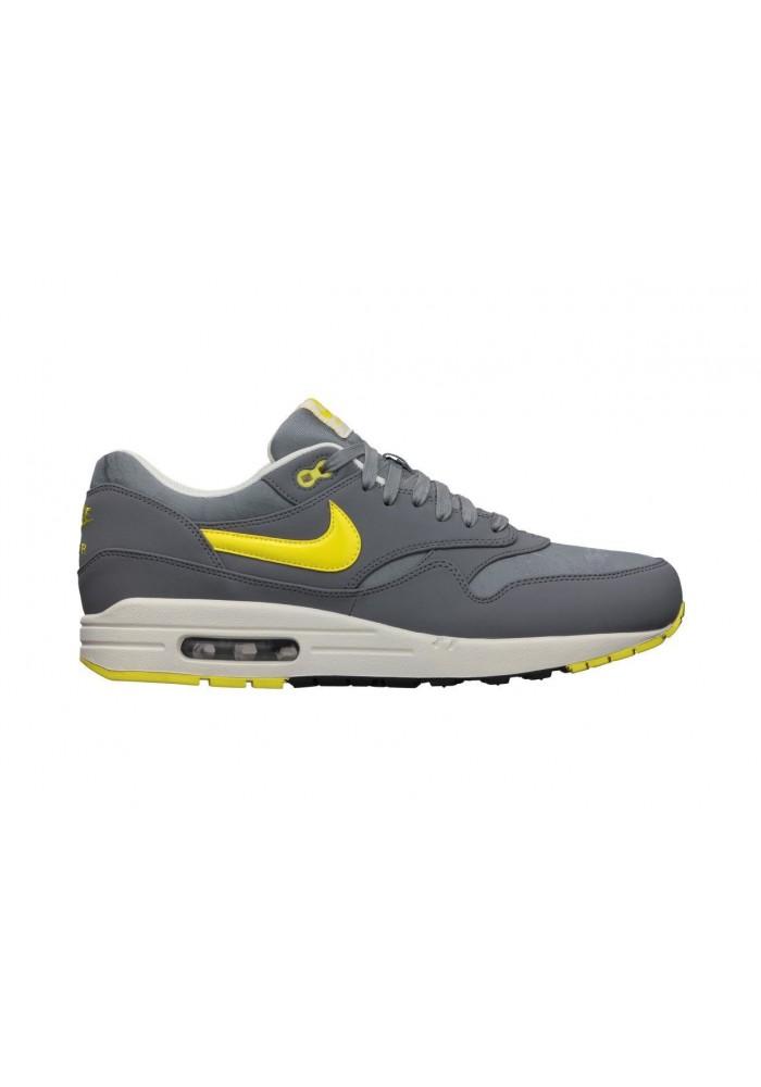 Nike Air Max 1 PRM 512033 070 Grise Basket Hommes Running