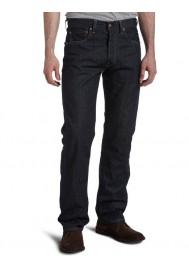 Levi's 501 Original Button Fly Jeans Clean Rigid 501-0536 Hommes