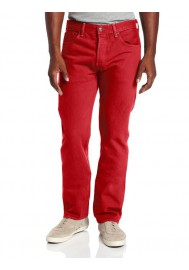 Levi's 501 Original Button Fly Jeans Jester Red 501-1584 Hommes