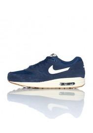 Nike Air Max 1 Essential (Ref: 537383-411) Bleu Basket Mode -  Hommes Running