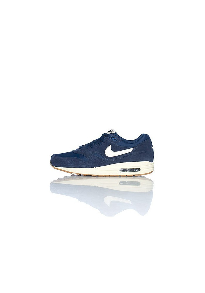 Nike Air Max 1 Essential 537383-411 Bleu Hommes Running