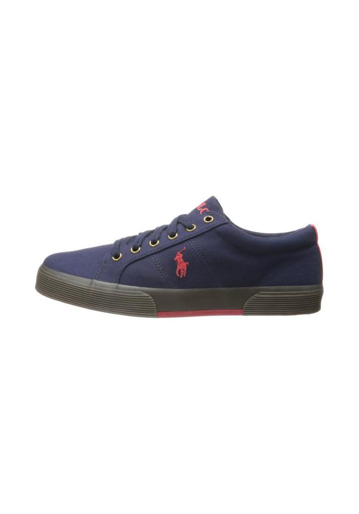 Chaussure Ralph Lauren - Felixstow Newport Navy/Red - Homme