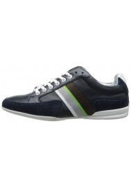 Chaussure Hugo Boss Green - Space Leather Bleu Marine - Homme
