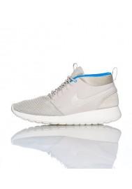 Chaussures Hommes Nike Rosherun Mid Blanche (Ref : 599501-004) Running