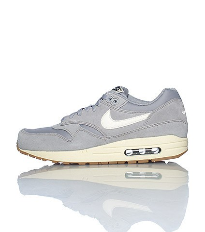 roshe run grise rose - Nike Air Max 1 Essential Grise (Ref : 537383-015) Basket Hommes ...