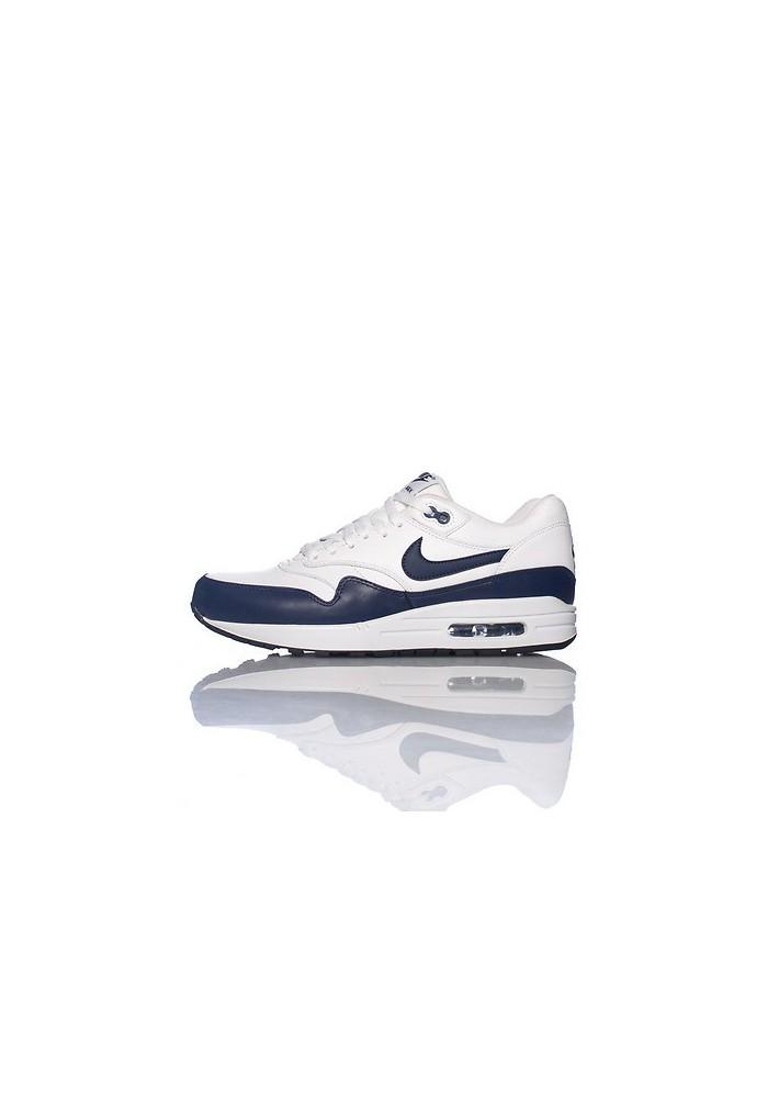basket nike air max bleu en cuire