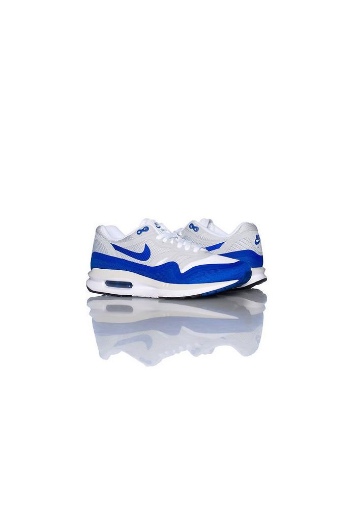Baskets Nike Air Max Lunar 1 Bleu (Ref : 654937 100) Femmes Running ShoemaniaQ