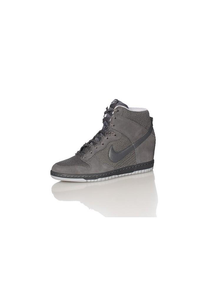 700299a234 WMNS Nike Dunk Sky Hi Essential Dark Grey 644877 001 \u2013 Bodega;
