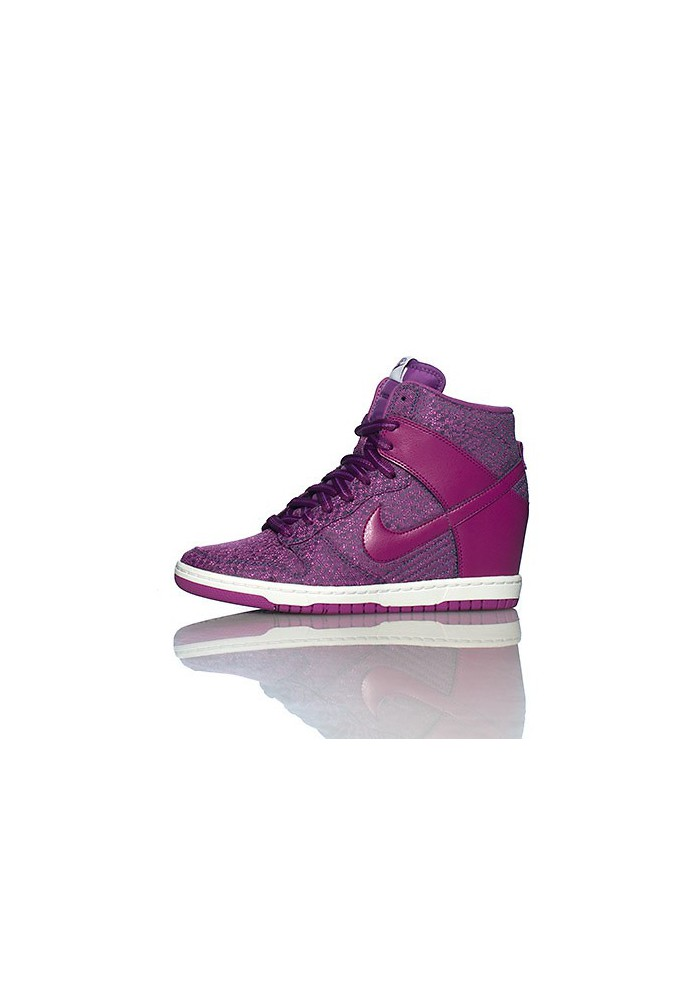 new arrival ca7ad a4168 Baskets Haute Nike DUNK SKY HI TXT WEDGE Violet (Ref   644410-400)