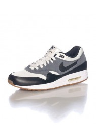 Nike Air Max 1 Essential Grise (Ref : 537383-124) Basket Mode Hommes 2015